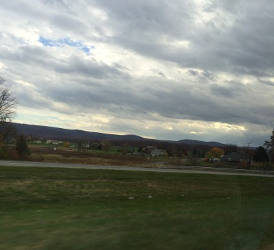 Driving through Pennsylvania