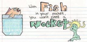 With Fish in your pocket logo